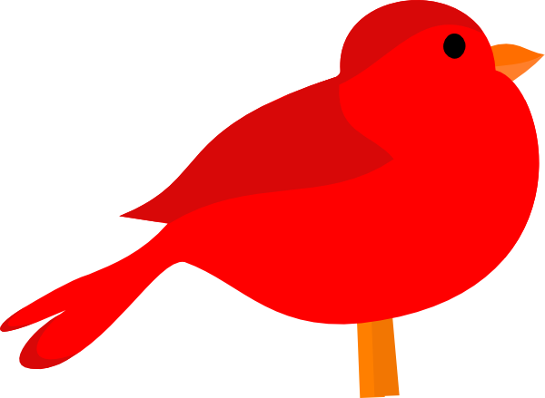 Red Bird Clip Art At Clker Com Vector Cl-Red Bird Clip Art At Clker Com Vector Clip Art Online Royalty Free-9