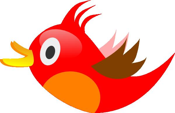 ... Red Bird Clip Art ...