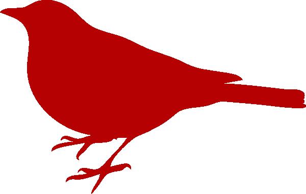 Red Bird clip art - vector cl - Red Bird Clipart