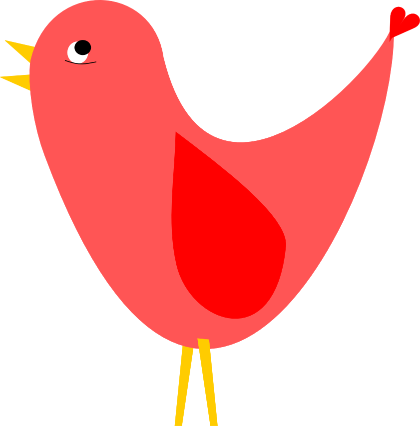 Red Birds Clipart Clipart Bes - Red Bird Clipart