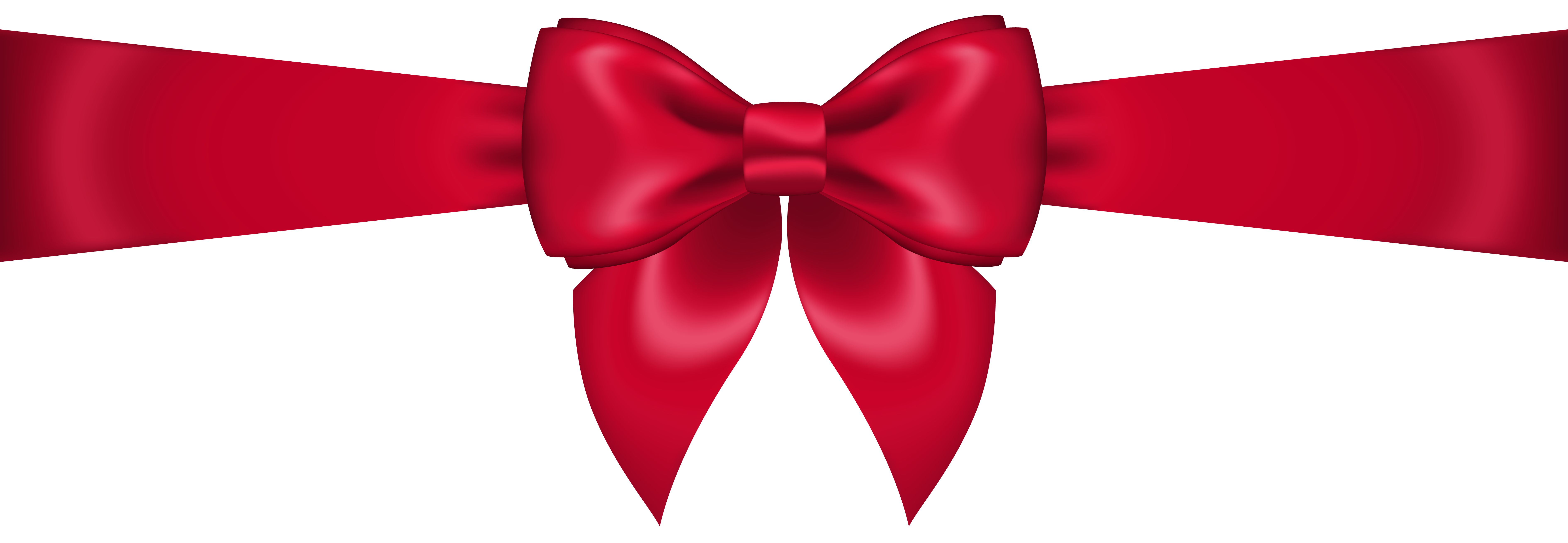 Red Bow Clipart Transparent-Red bow clipart transparent-11