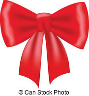 ... Red Bow Isolated On White-... Red bow isolated on white-12