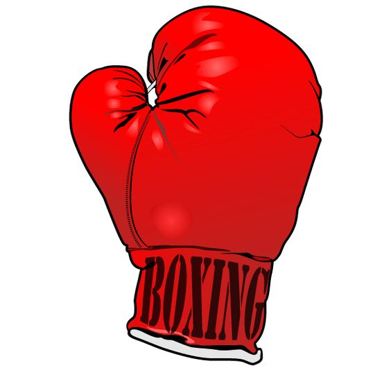 Red Boxing Gloves Vector Image Free | Download Free Vector Art - ClipArt Best