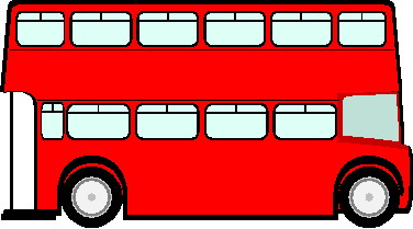 Red bus clipart free clipart images 3