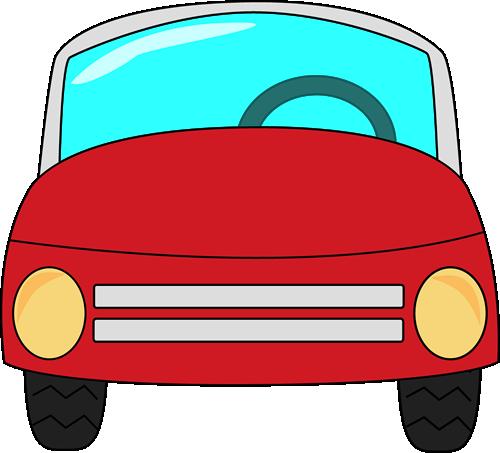 Red Car - Car Clip Art