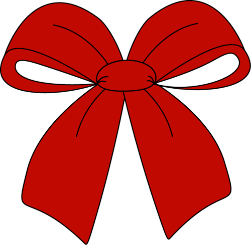 Red Christmas Bow Clip Art Large Red Christmas Bow This Image Is A