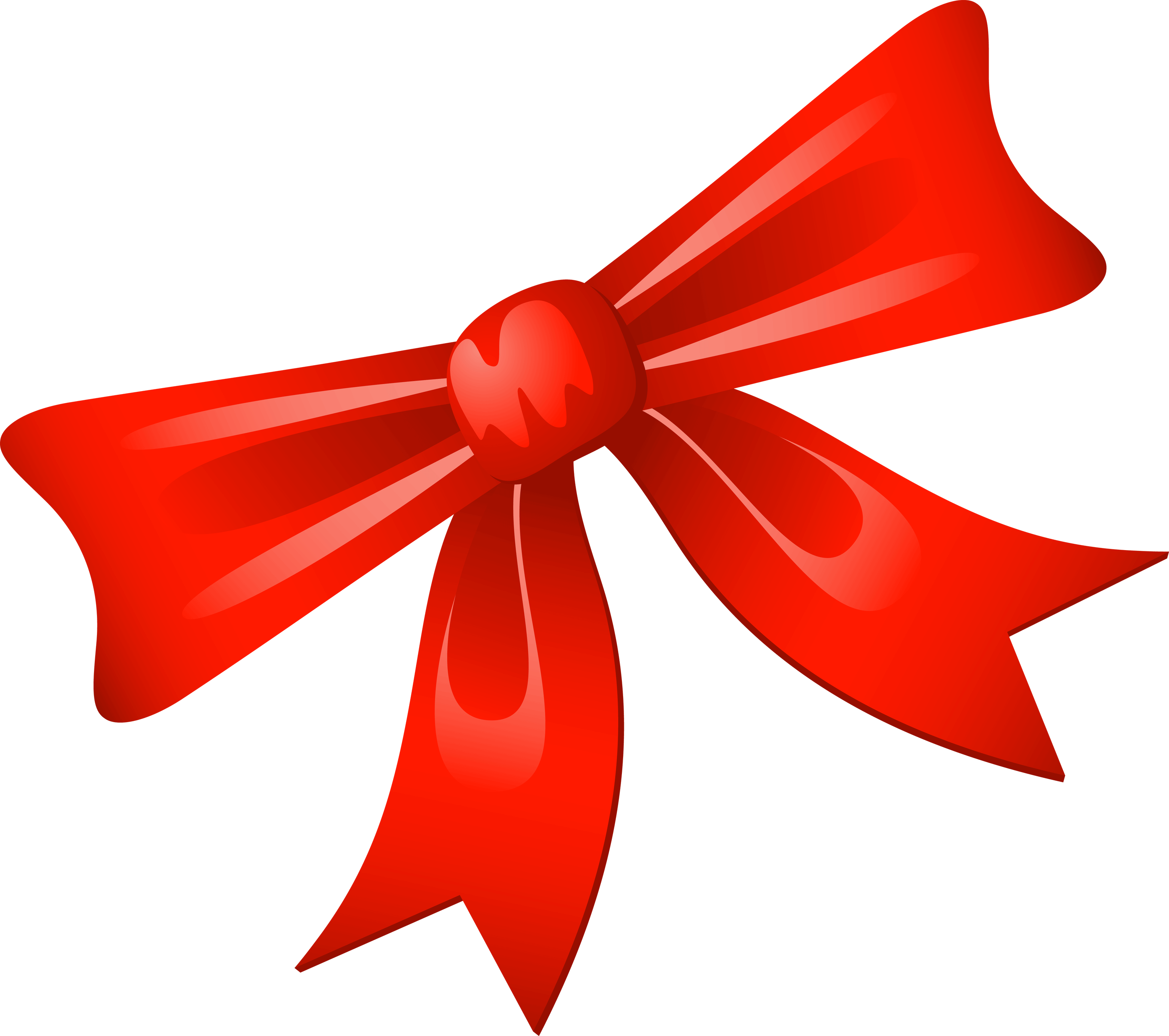 Red Christmas Bow Clip Art-Red Christmas Bow Clip Art-12