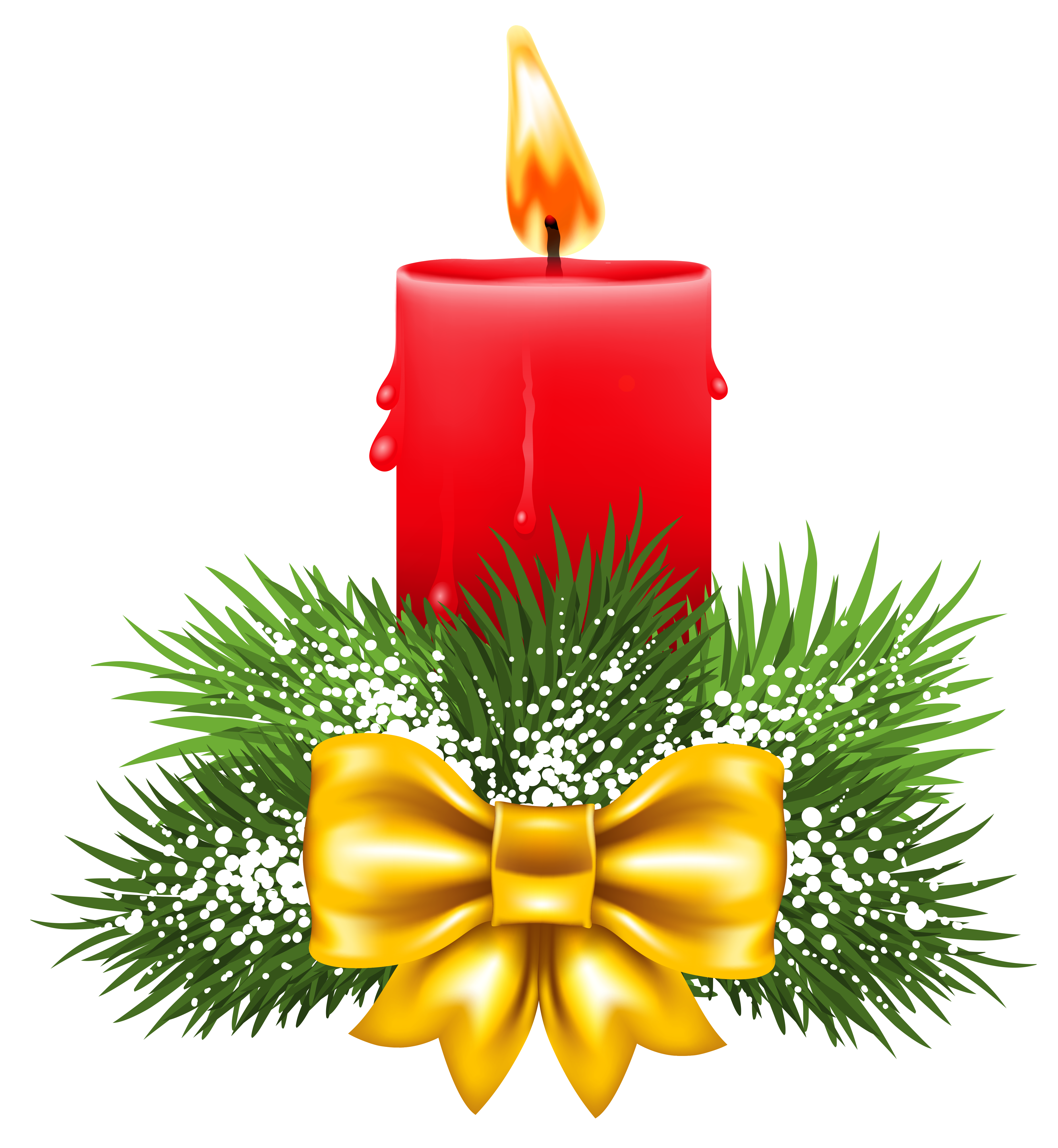 ... Red Christmas Candle Clip Art ...-... red christmas candle clip art ...-14