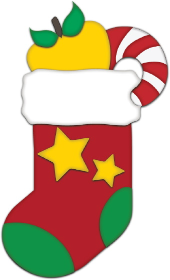 Red Christmas Stocking Clip Art-Red Christmas Stocking clip art-13