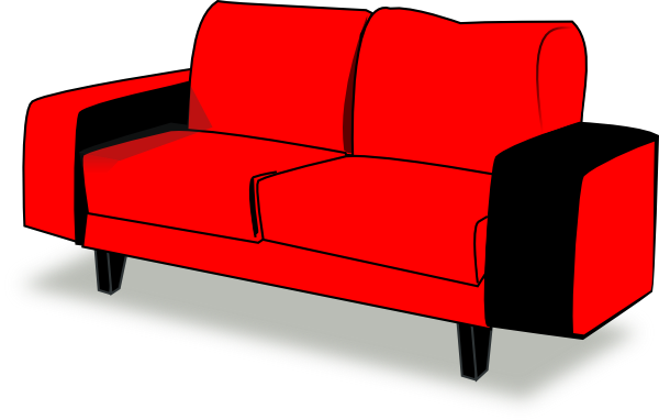 Red Couch Clip Art At Clker Com Vector C-Red Couch Clip Art At Clker Com Vector Clip Art Online Royalty Free-12