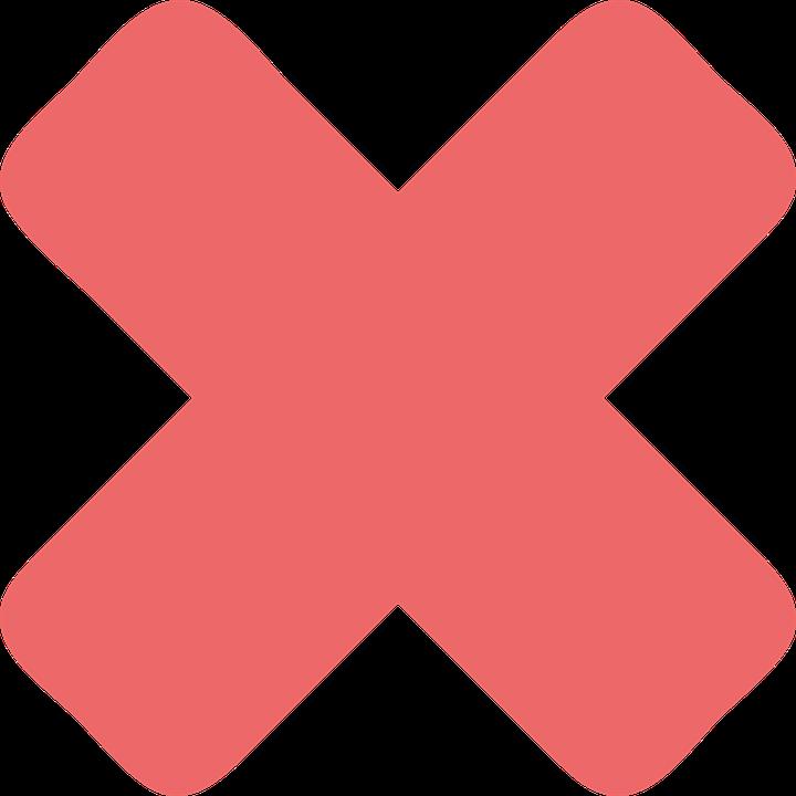 Cross Mark Red Sign Icon Mark Symbol Cro-cross mark red sign icon mark symbol cross-8