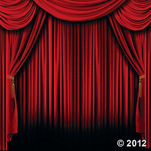 Red Curtain Backdrop Banner-Red Curtain Backdrop Banner-10