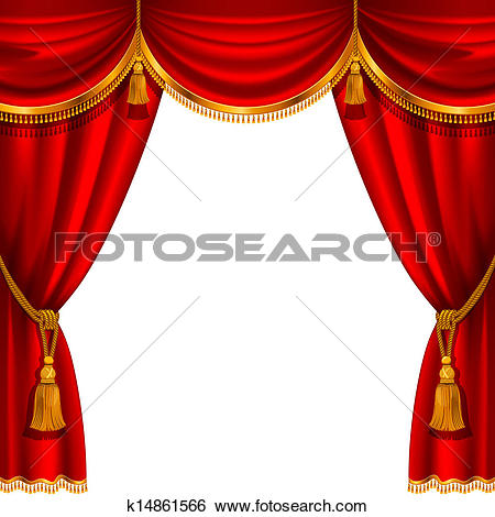 Red curtain-Red curtain-5