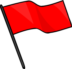Red Flag Clipart