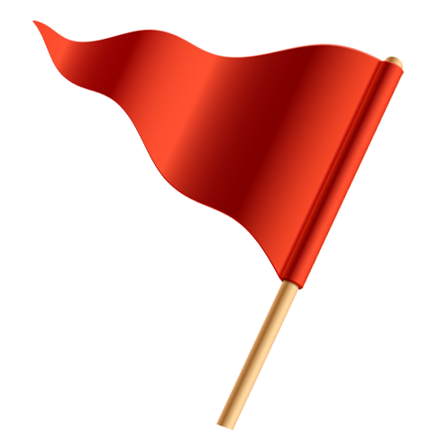 Red Flag Picture - Clipart library