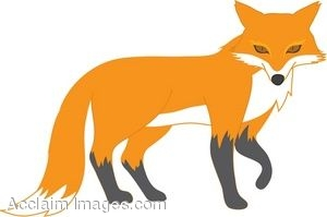 Red Fox Clip Art