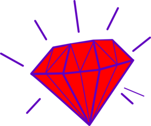 Red Gem Clip Art