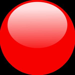 Red Glossy Dot Clip Art At Cl - Dot Clip Art