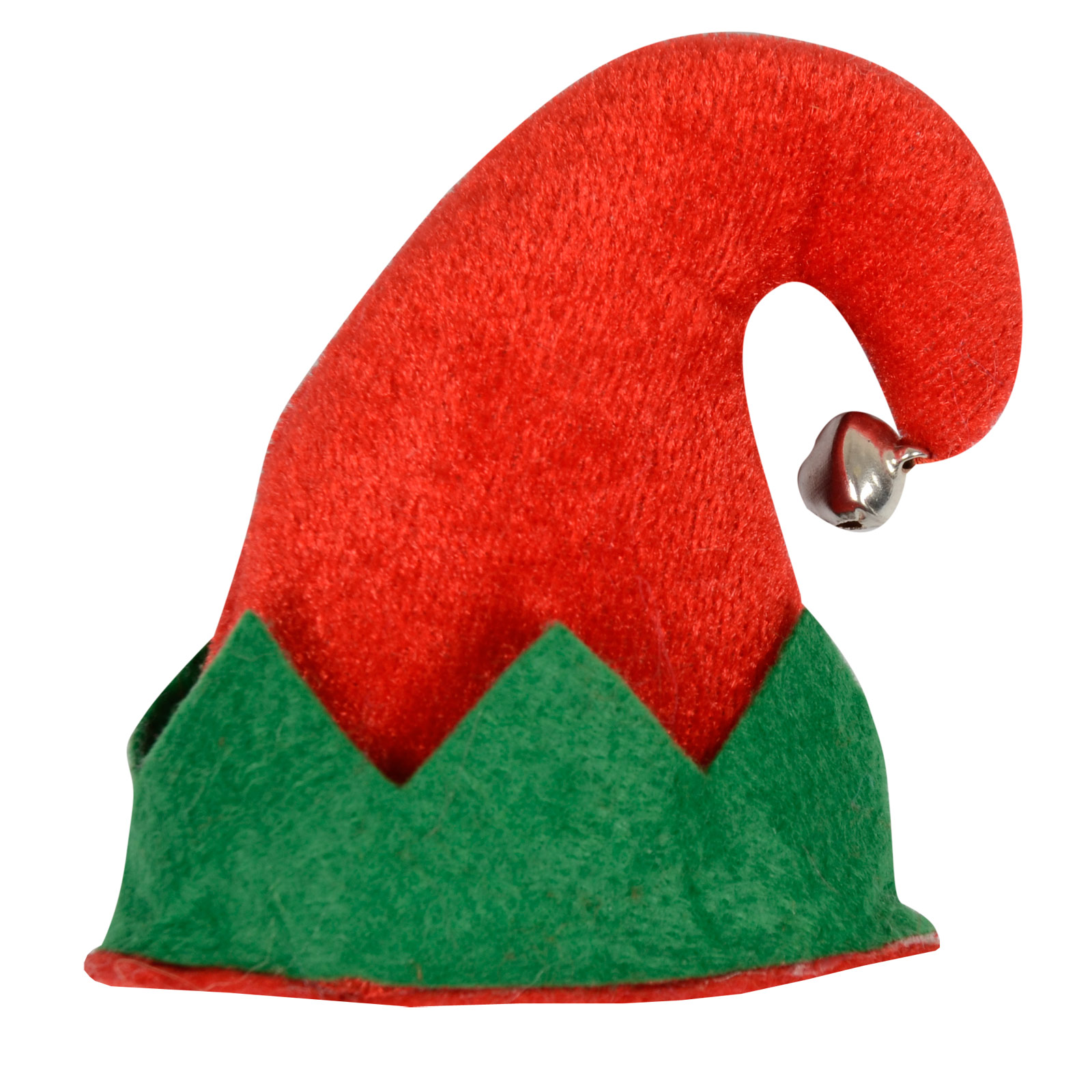 Red Green Mini Elf Hat Christmas Xmas Fe-Red Green Mini Elf Hat Christmas Xmas Festive Hair Clip With Jingle-17