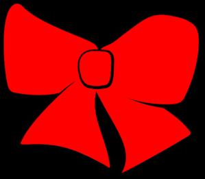 Red Hair Bow Clipart #1-Red Hair Bow Clipart #1-13