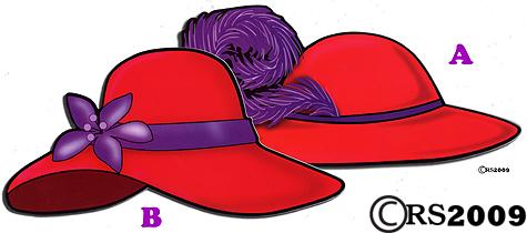 Red Hat Society Red Hat Magnet-Red Hat Society Red Hat Magnet-17