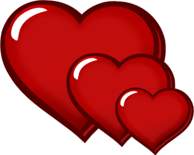 red heart clip art | Indesign Art and Craft