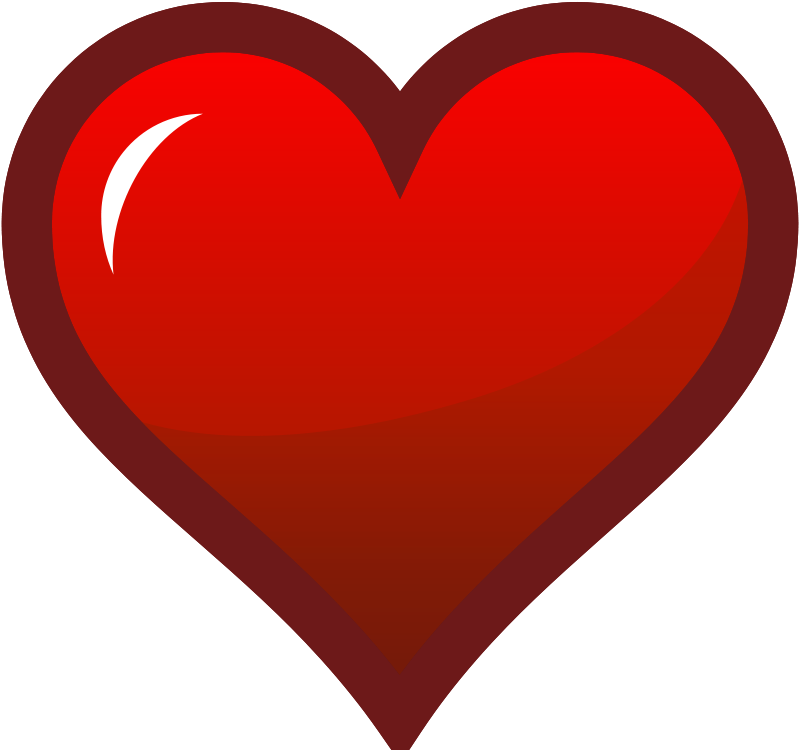 Red Heart Clip Art - Red Heart Clip Art