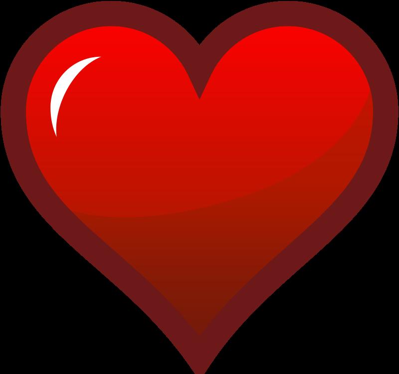 Red Heart Clip Art-Red Heart Clip Art-4