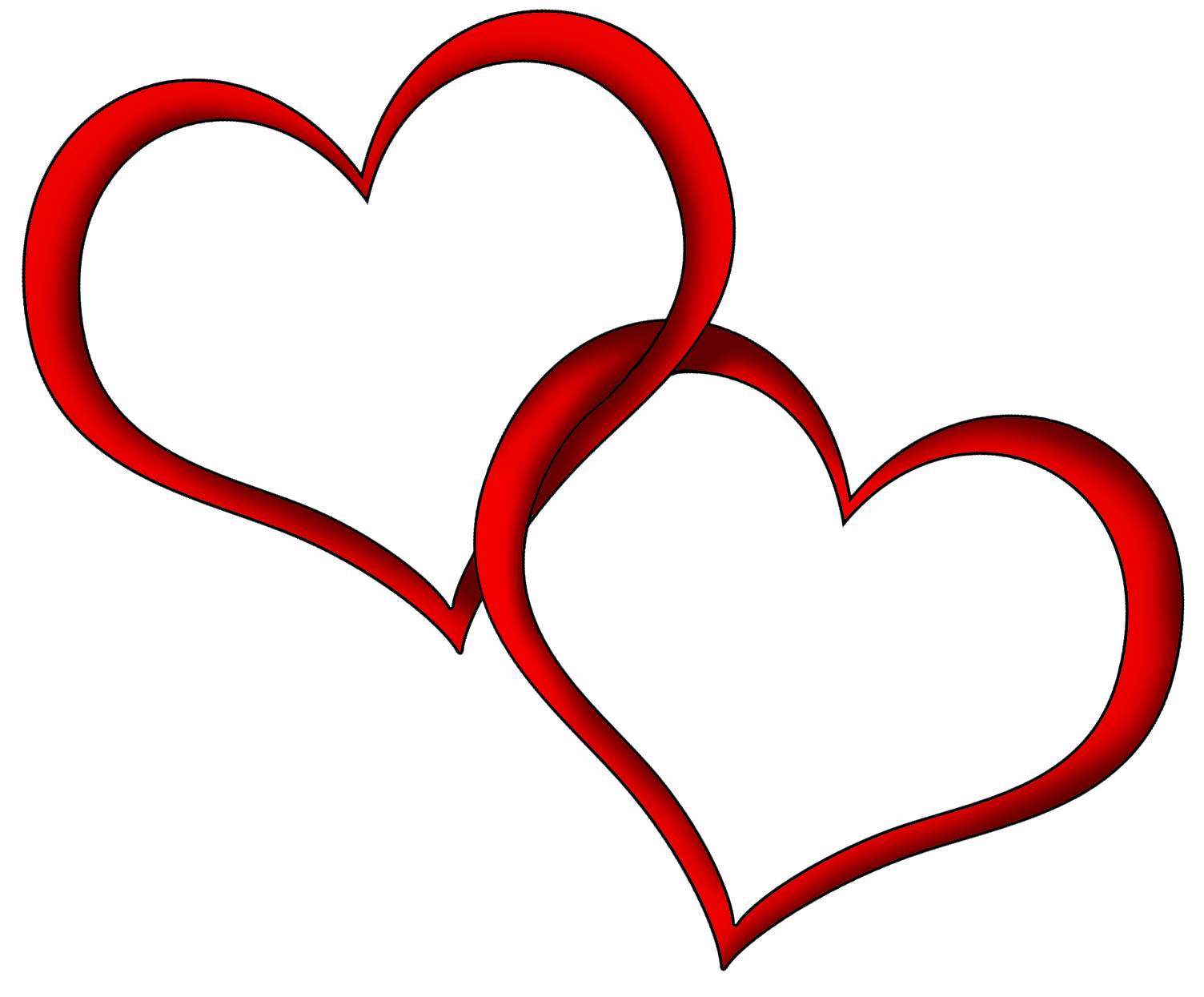 ... Red Heart Clip Art - clipartall