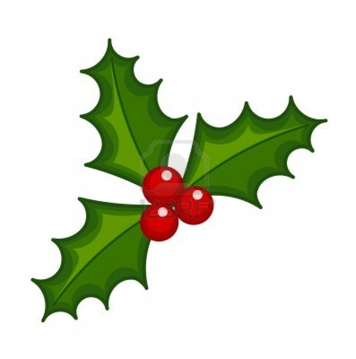 Red Holly Berry Clip Art - Holly Berry Clip Art