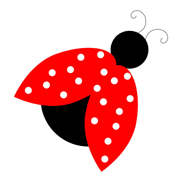 Red Ladybug Clipart Free Stock .