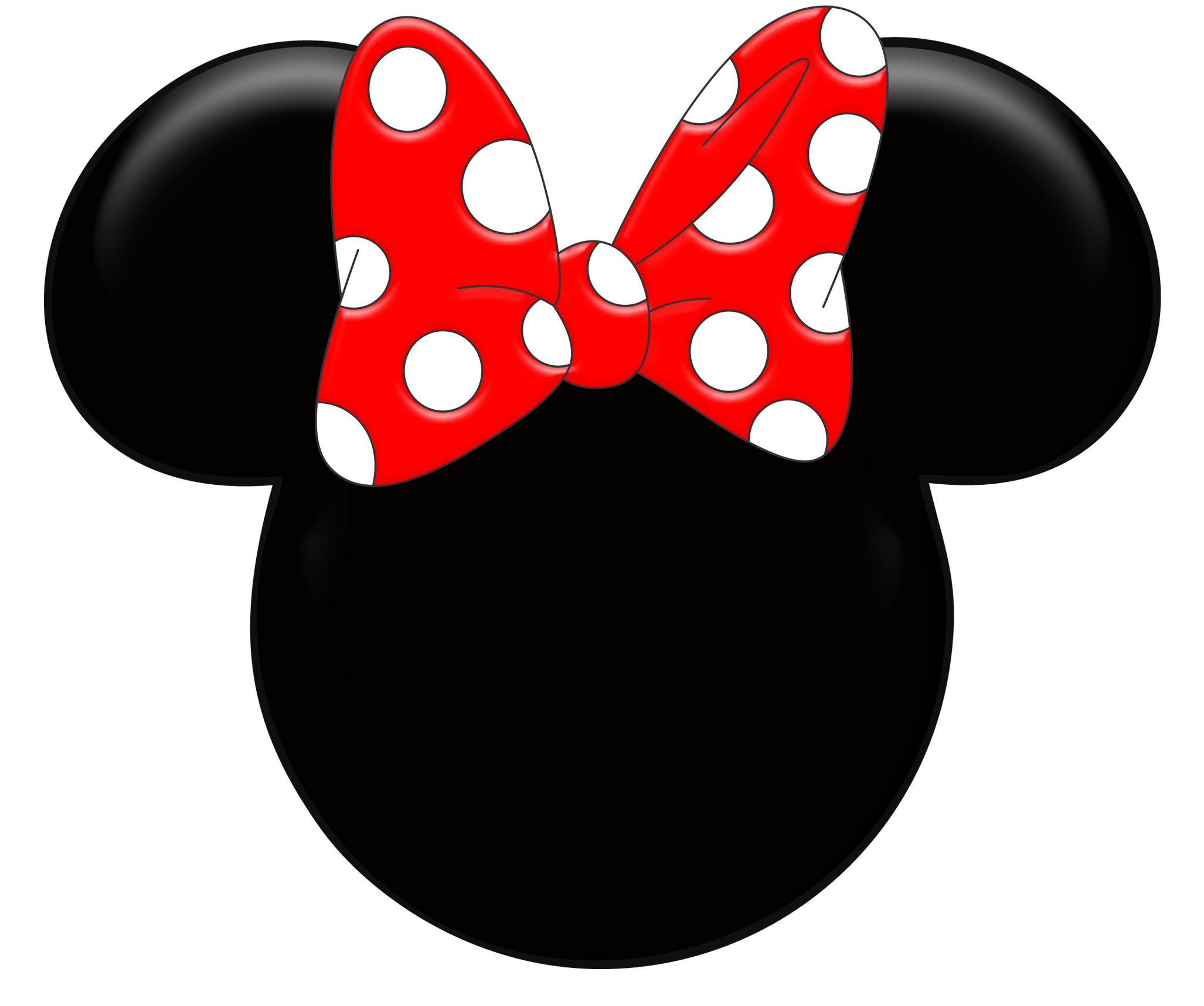 Red Minnie Mouse Wallpaper Ki - Minnie Mouse Silhouette Clip Art