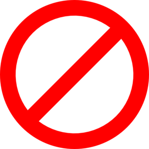 Red Not Sign Transparent Clip Art At Clk-Red Not Sign Transparent Clip Art At Clker Com Vector Clip Art-7