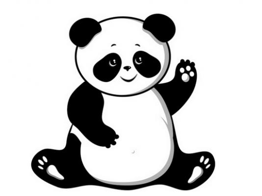 Kung fu panda clip art image