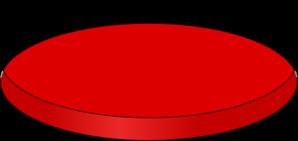 Red Petri Dish Clip Art