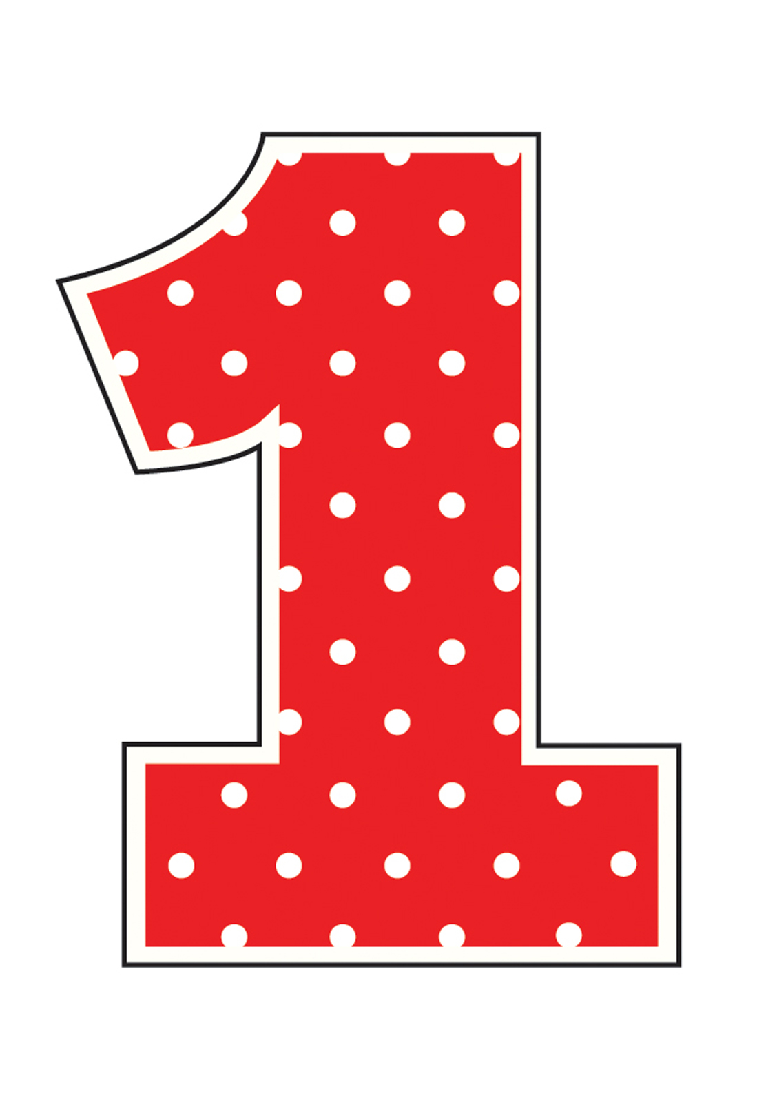 Red Polka Dot Candle Thepartyworks-Red Polka Dot Candle Thepartyworks-7
