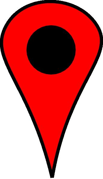 Red Push Pin Clip Art At Clker Com Vector Clip Art Online Royalty