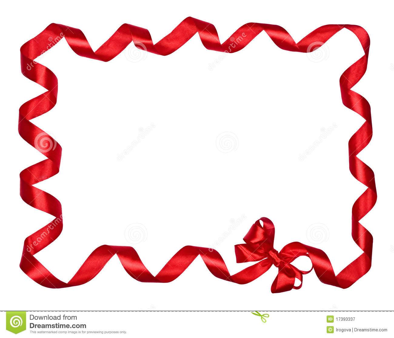 Red Ribbon Border Clip Art-Red Ribbon Border Clip Art-15