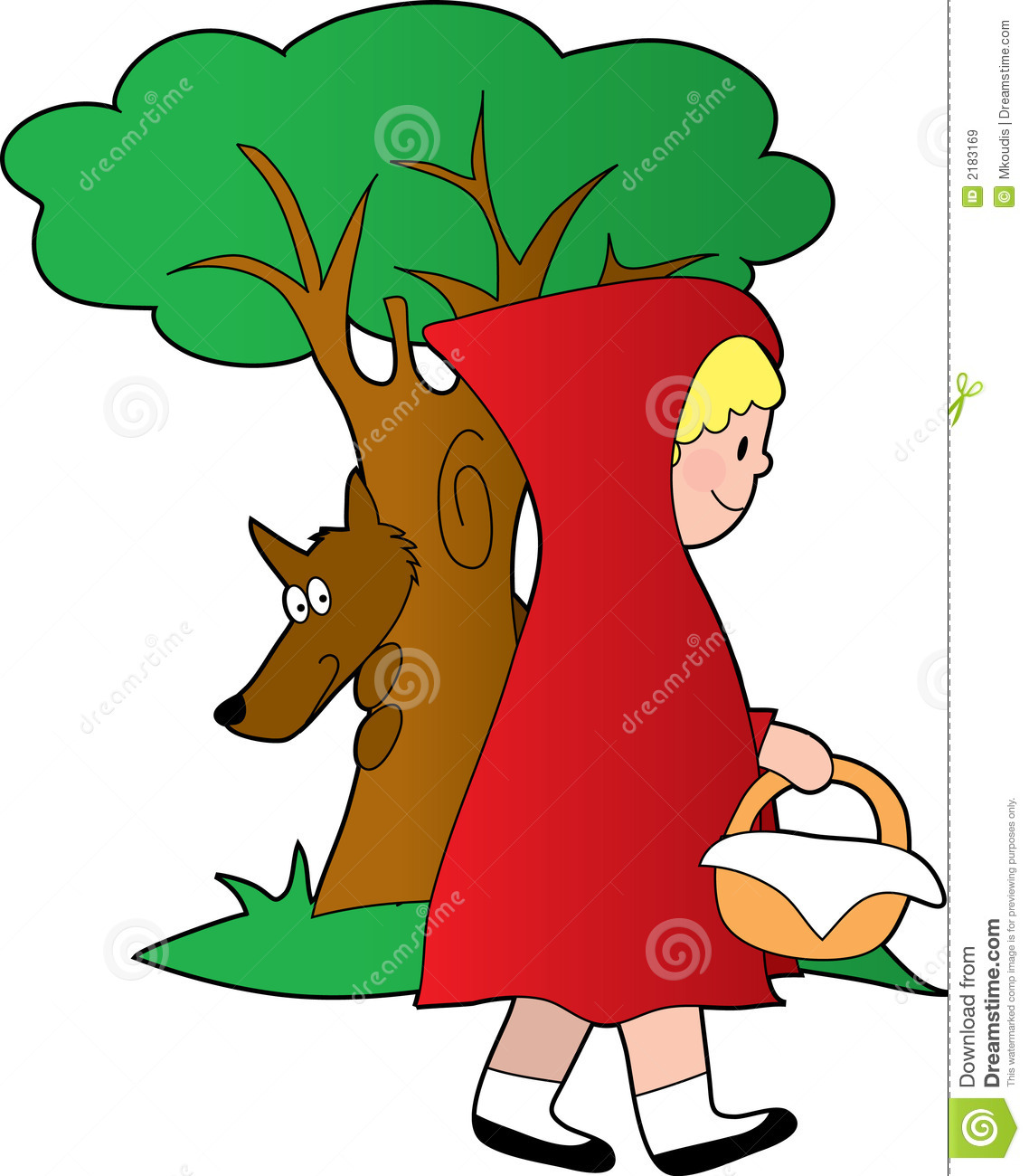 Red Riding Hood Clipart - Clipart Kid