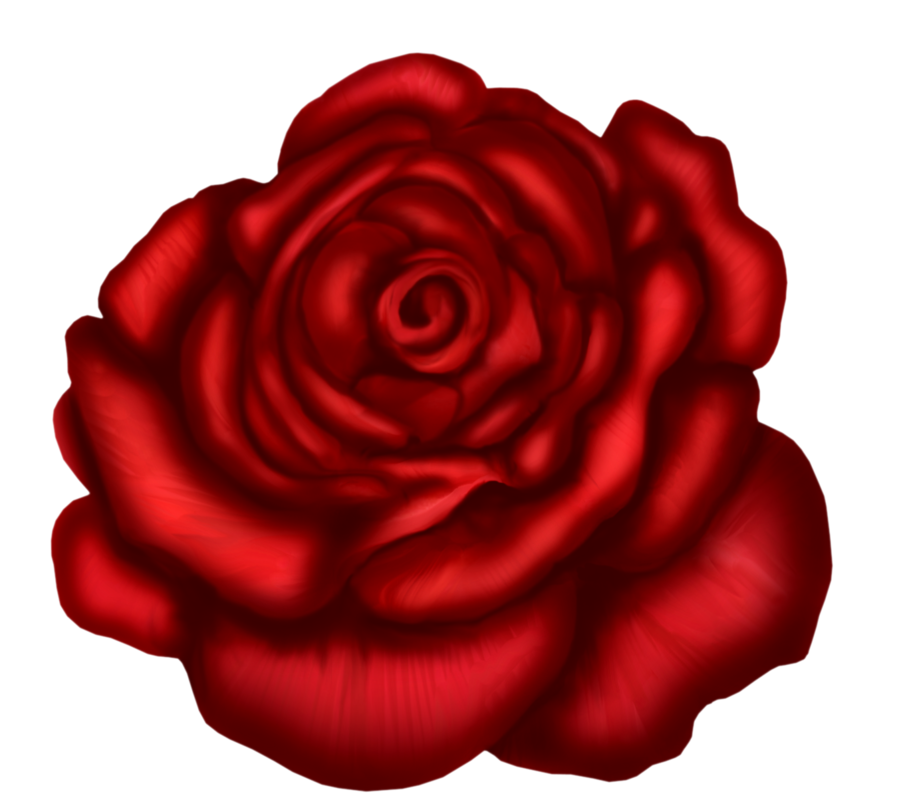 Red Rose Art Picture - Red Roses Clipart
