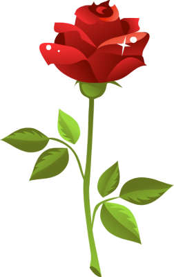 Red Rose Clip Art - Red Roses Clipart