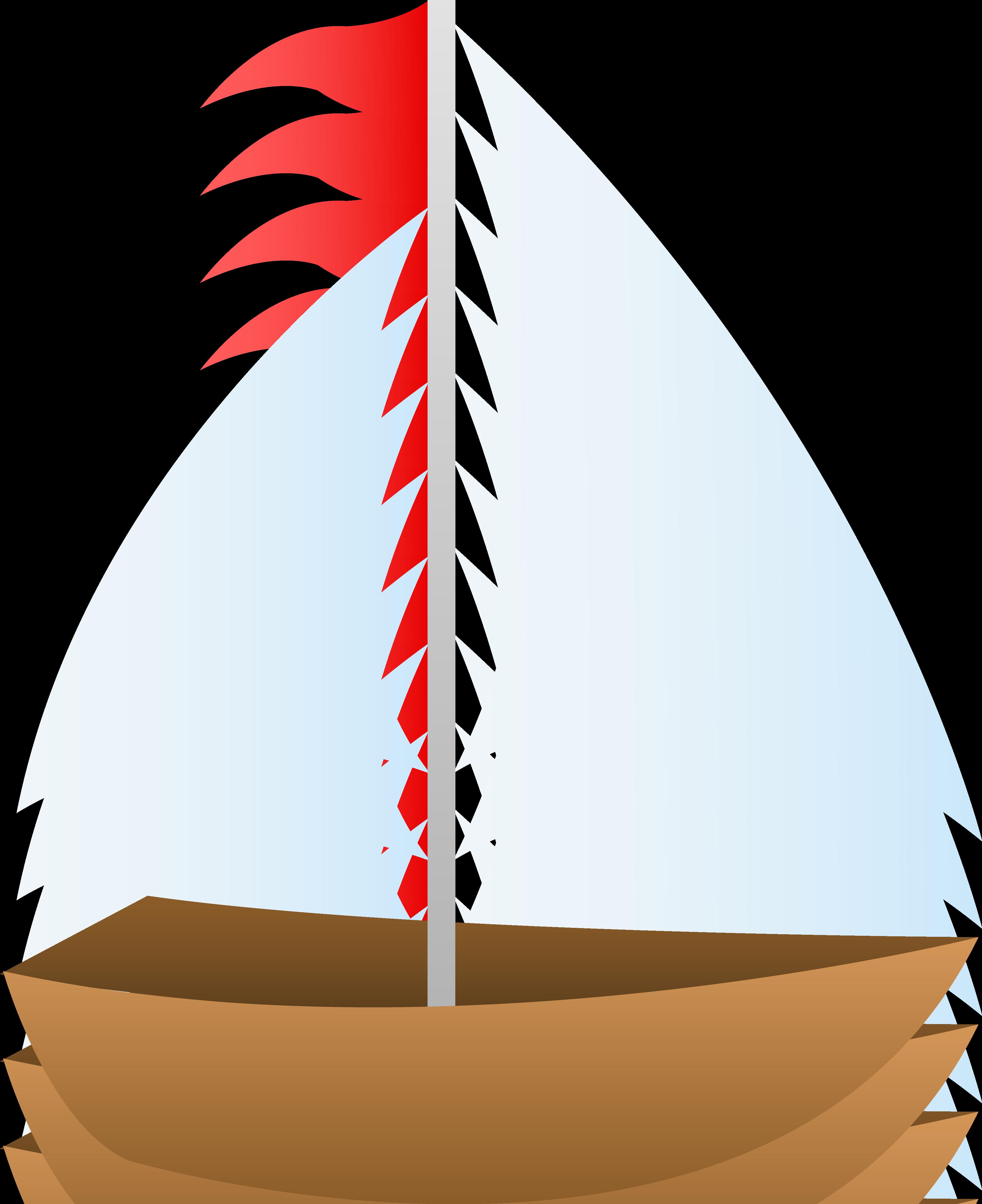 Red Sailboat Free Clipart-Red Sailboat Free Clipart-9