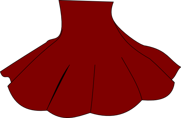 Red Skirt Clip Art - Vector Clip Art Onl-Red Skirt clip art - vector clip art online, royalty free public-11