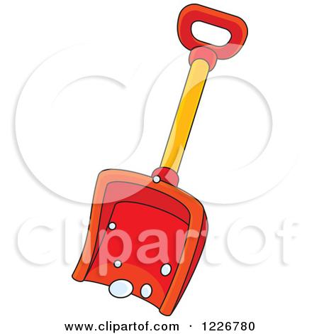 Red Snow Shovel by Alex Bannykh-Red Snow Shovel by Alex Bannykh-13