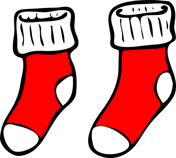 Red Socks Clip Art At Clker Com Vector C-Red Socks Clip Art At Clker Com Vector Clip Art Online Royalty Free-4