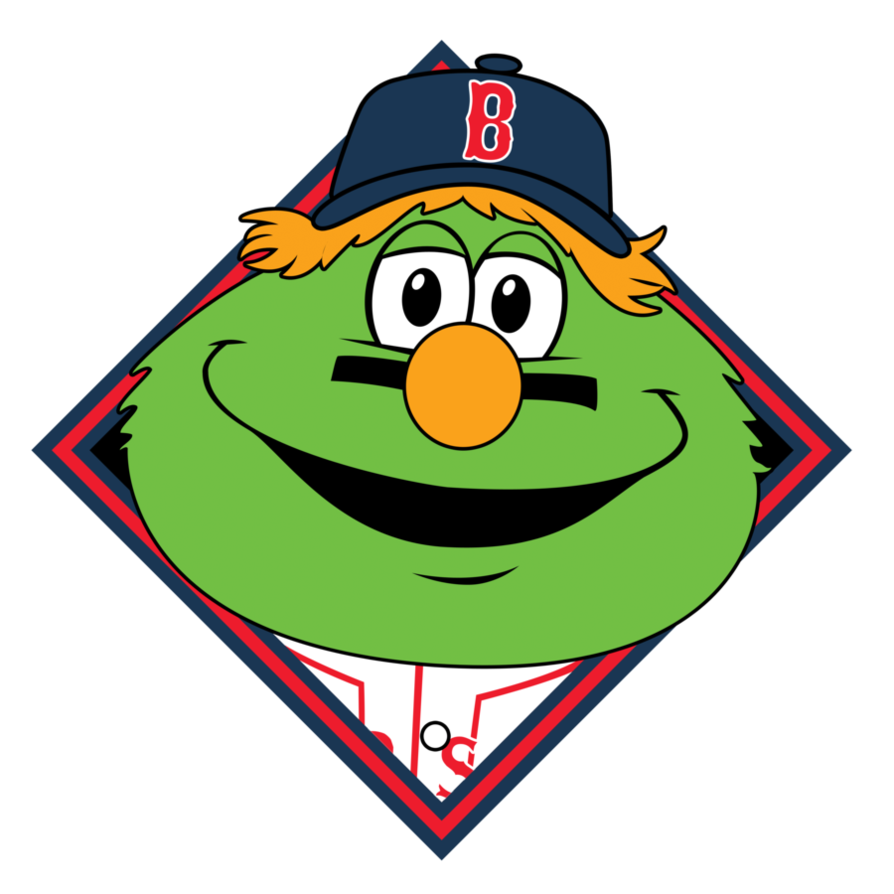 Red Sox Wally Clipart #1 - Red Sox Clip Art