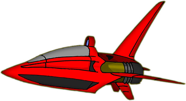 red space craft