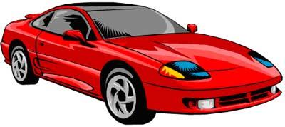 Red Sports Car Clipart-Red Sports Car Clipart-8
