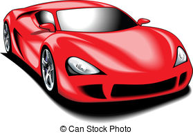 Red Sports Car-Red Sports Car-2
