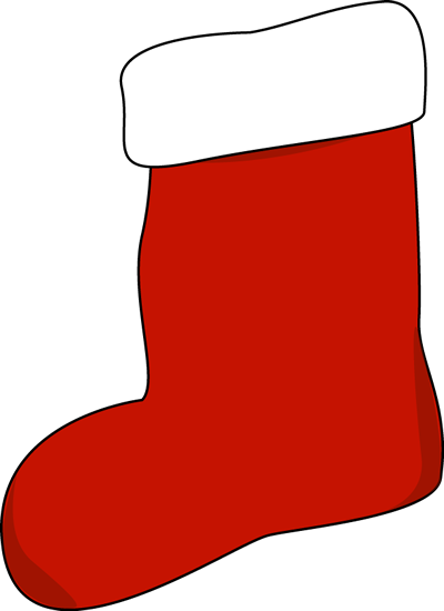 Red Stocking Clip Art Big Red .